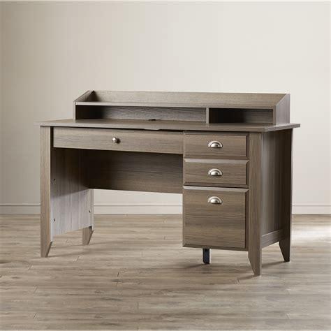 3 computer desk andover mills revere 3 drawer computer desk reviews