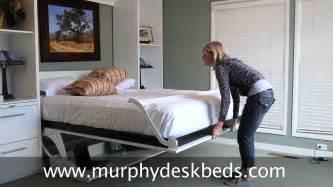 Desk Murphy Bed Combo Murphy Deskbeds Queen Vertical In White Murphy Bed With