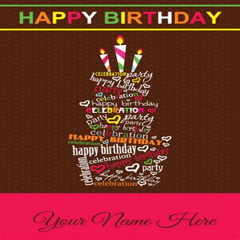 Birthday Card With Name Generator Birthday Cards With Name Next Greetings