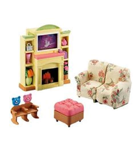 loving family living room fisher price loving family dollhouse furniture set anna