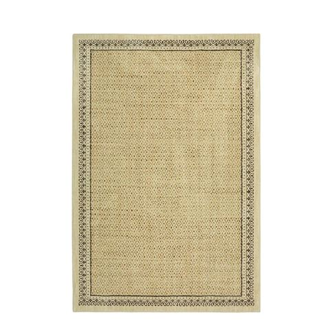 home depot mohawk area rugs mohawk home stardust gold 8 ft x 10 ft area rug 000040 the home depot