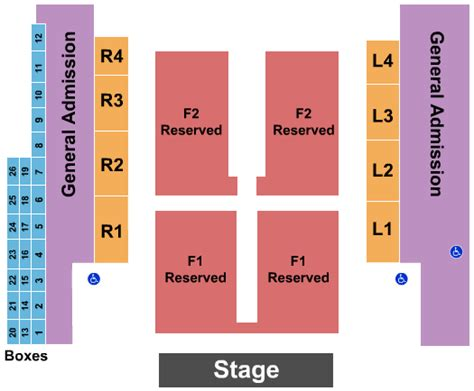 outdoor amphitheater  ford idaho center seating chart nampa