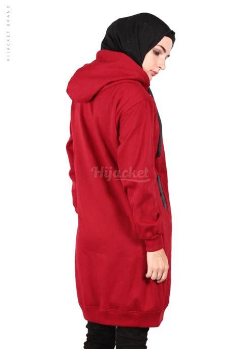 Sweater Premium Flop Varsity Maroon hijacket basic maroon jb id