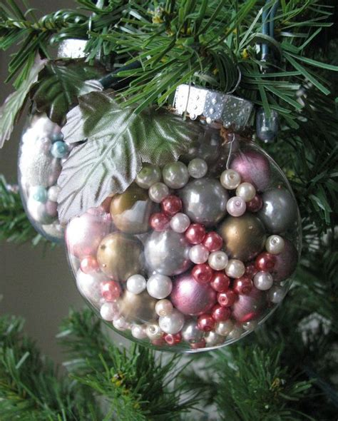 beautiful ornaments to make how to fill clear glass ornaments 25 ideas shelterness
