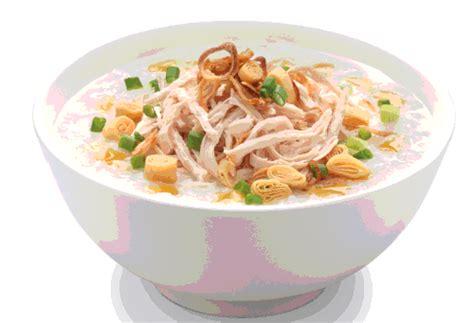 Mangkok Bubur resep cara membuat bubur ayam special
