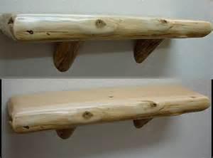 moose r us white cedar accent mantel shelf log braces