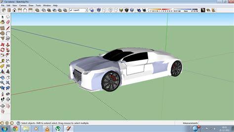 tutorial sketchup car image gallery sketchup car