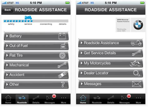 Bmw Motorrad Usa Roadside Assistance by Bmw Iphone App Keeps Motorcycle Riders Moving Cult Of Mac