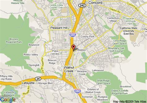 map of walnut california map of renaissance club sport walnut creek walnut creek