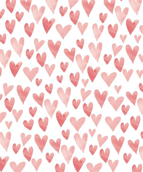 pattern background hearts hugs and kisses my blue flamingo