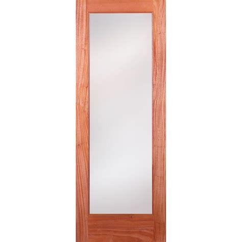 Feather River Doors 24 In X 80 In 1 Lite Unfinished Feather River Interior Doors