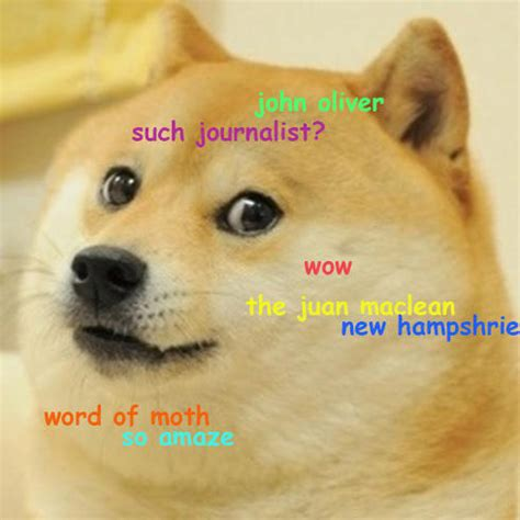 New Doge Meme - 10 14 14 is john oliver a journalist inside the doge