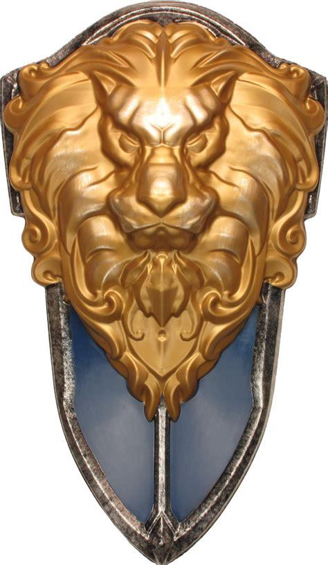 world  warcraft costume stormwind lion shield