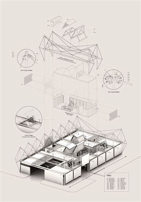 draw architecture diagram 216 best exploded axonometric architectural drawing