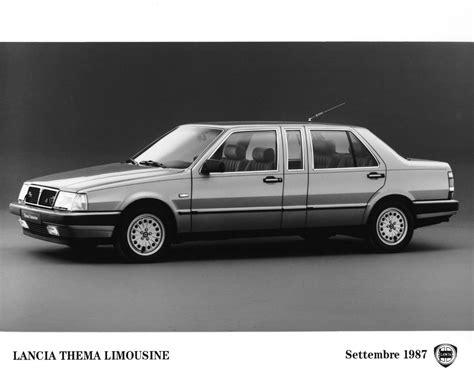 Lancia Limousine The Carchive The 93 Lancia Thema Hooniverse