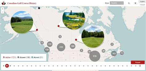 history of new year in canada mapping the history of canadian golf golf canada