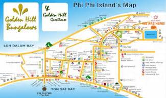 golden resort krabi map phi phi hotel hostel golden hill bungalows contact us