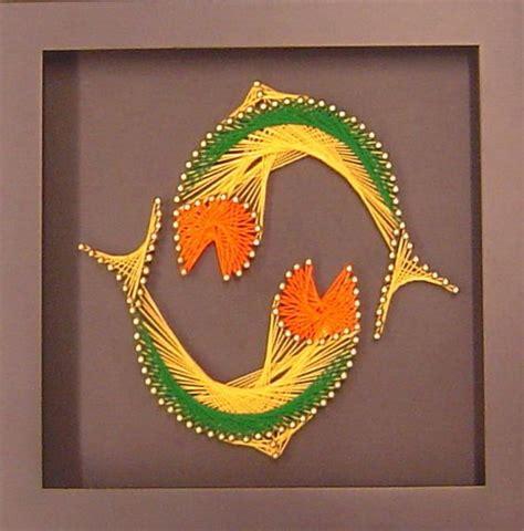 String Fish - string string yin yang fish and