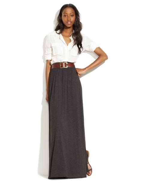 fall trend 2 maxi skirts a cup of jo