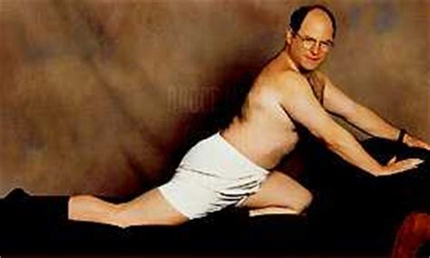 seinfeld george posing on the couch dreams coming true climbing el cap and underwear modeling