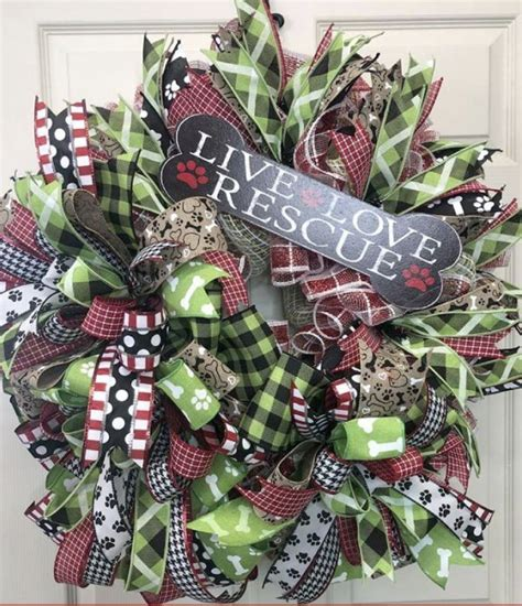 pin  carolyn picanzo  wreaths trees deco mesh etsy