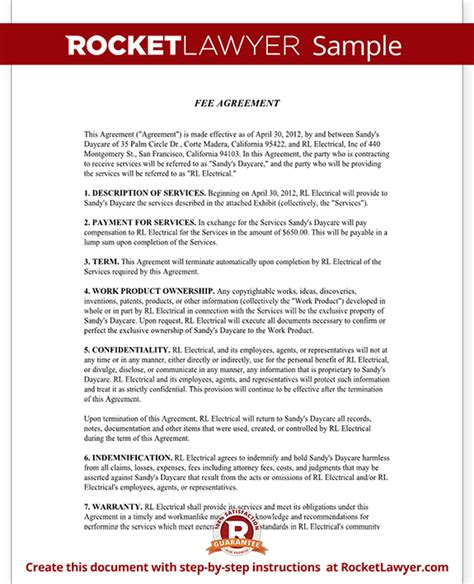property finders fee agreement template fee agreement form with sle