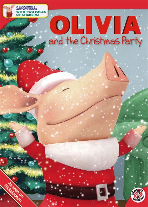 olivia   christmas party book  tina gallo drew rose official publisher page simon