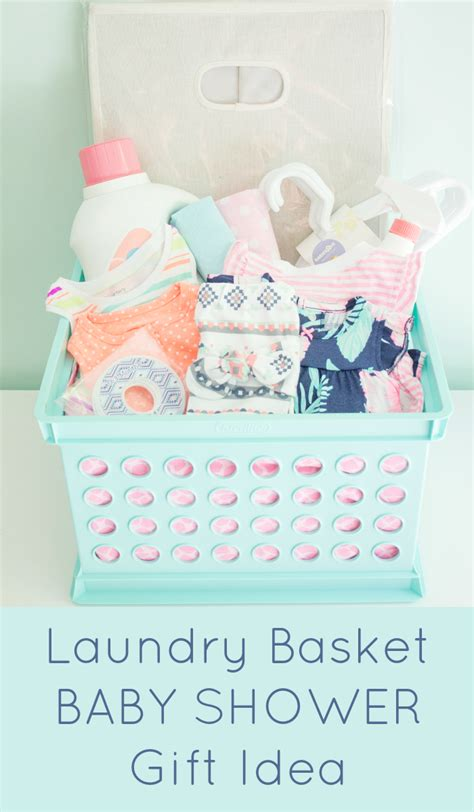 Unique Baby Shower Presents by Laundry Basket Baby Shower Gift The Inspired Hive