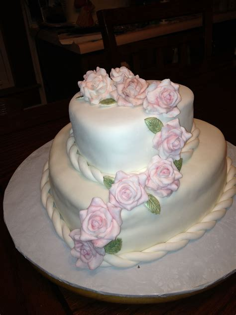 Heart shaped birthday cake.   25th anniversary cakes