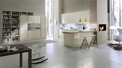 light and fresh modern kitchen design decoist contemporary italian kitchen space saving versatile