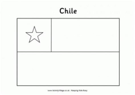 chile flag coloring page az coloring pages