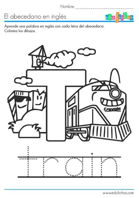 ingles imagenes pdf aprender la letra t ingles pinterest english