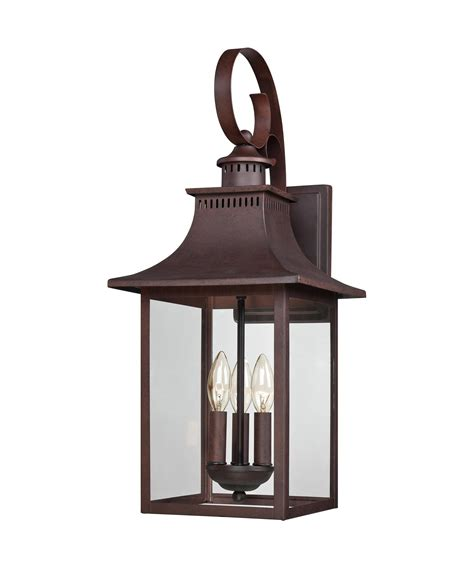 Quoizel Outdoor Lighting Quoizel Ccr8410 Chancellor 10 Inch Wide 3 Light Outdoor Wall Light Capitol Lighting 1