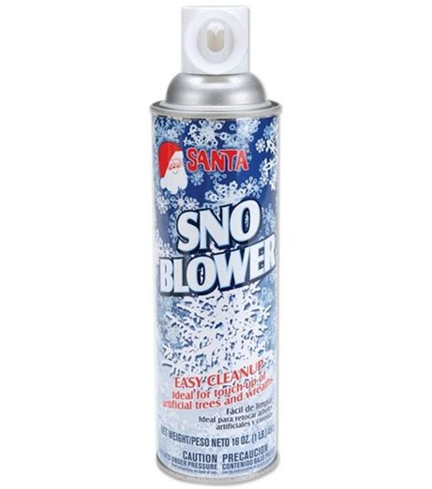 snow blower aerosol spray jo ann