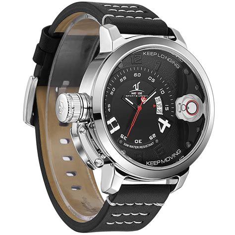 Jam Tangan Silver Sporty weide jam tangan sporty pria uv1606 black silver