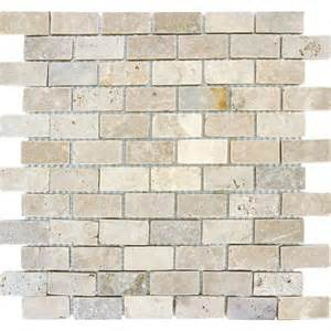 home depot kitchen tile backsplash ms international chiaro brick 12 in x 12 in x 10 mm