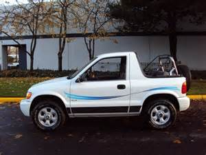 1999 kia sportage convertible 5 spd 4wd new top