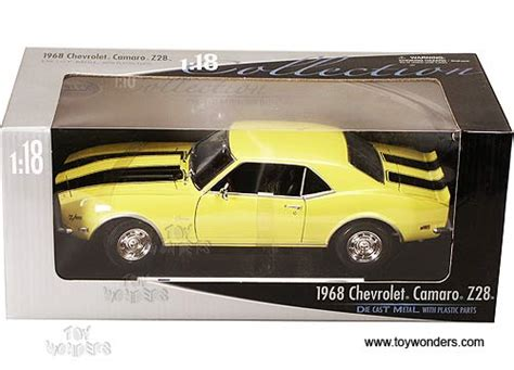 Welly Chevrolet Custom Decal 1968 chevrolet camaro z28 top by welly 1 18 scale