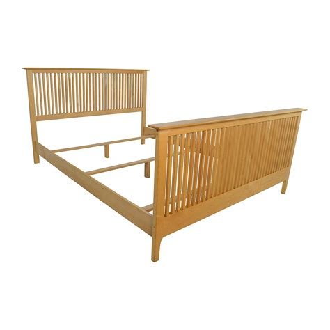 shaker bed frames 82 copeland copeland solid maple shaker bed