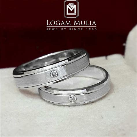 Kotak Cincin Dan Logam Mulia 1 jual cincin kawin berlian sdwm 20081 tde dle logammuliajewelry