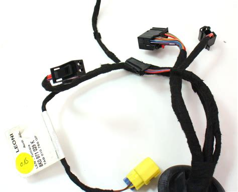 wiring harness drivers door audi a4 b6 audi a4 fuse panel