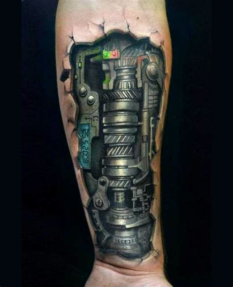 mechanical leg tattoo designs 50 amazing biomechanical designs amazing ideas