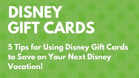 Walt Disney World Gift Card Deals - do walt disney world gift cards expire gift ftempo