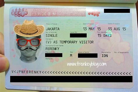 cara membuat visa jepang dengan e paspor cara syarat dan pengalaman mengurus visa jepang