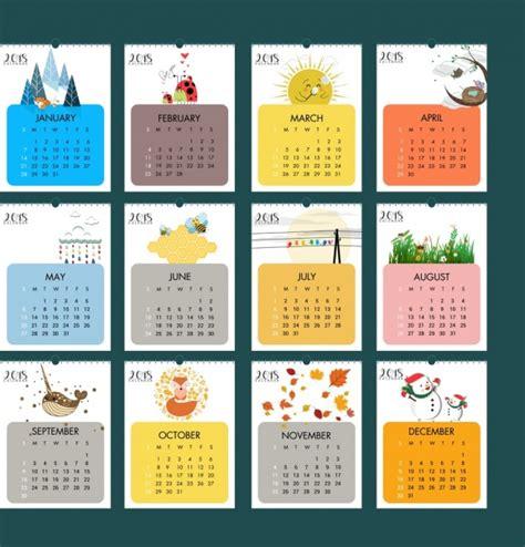 adobe photoshop calendar template 2018 calendar design elements icons free