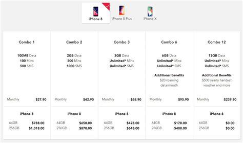 singtel price plans  iphone  iphone