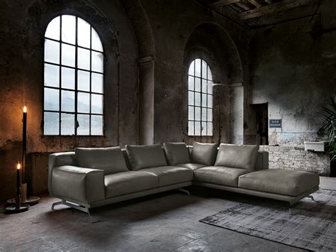 max divani nando leather sofa nando collection by max divani