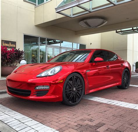 chrome porsche panamera porsche panamera chrome madwhips