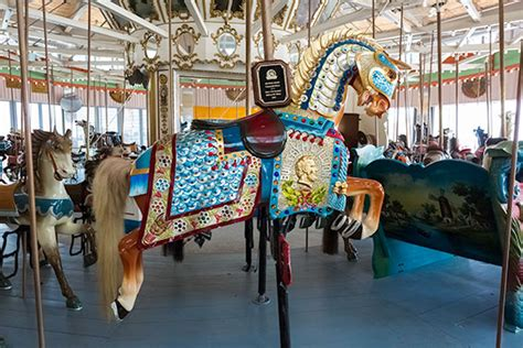 Carousel L b b carousell added to the national register of historic