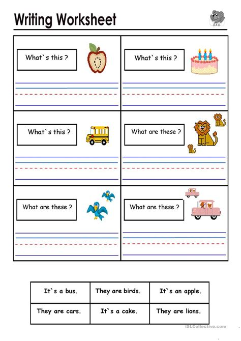 What Are These by Favorite What Are Worksheets Goodsnyc